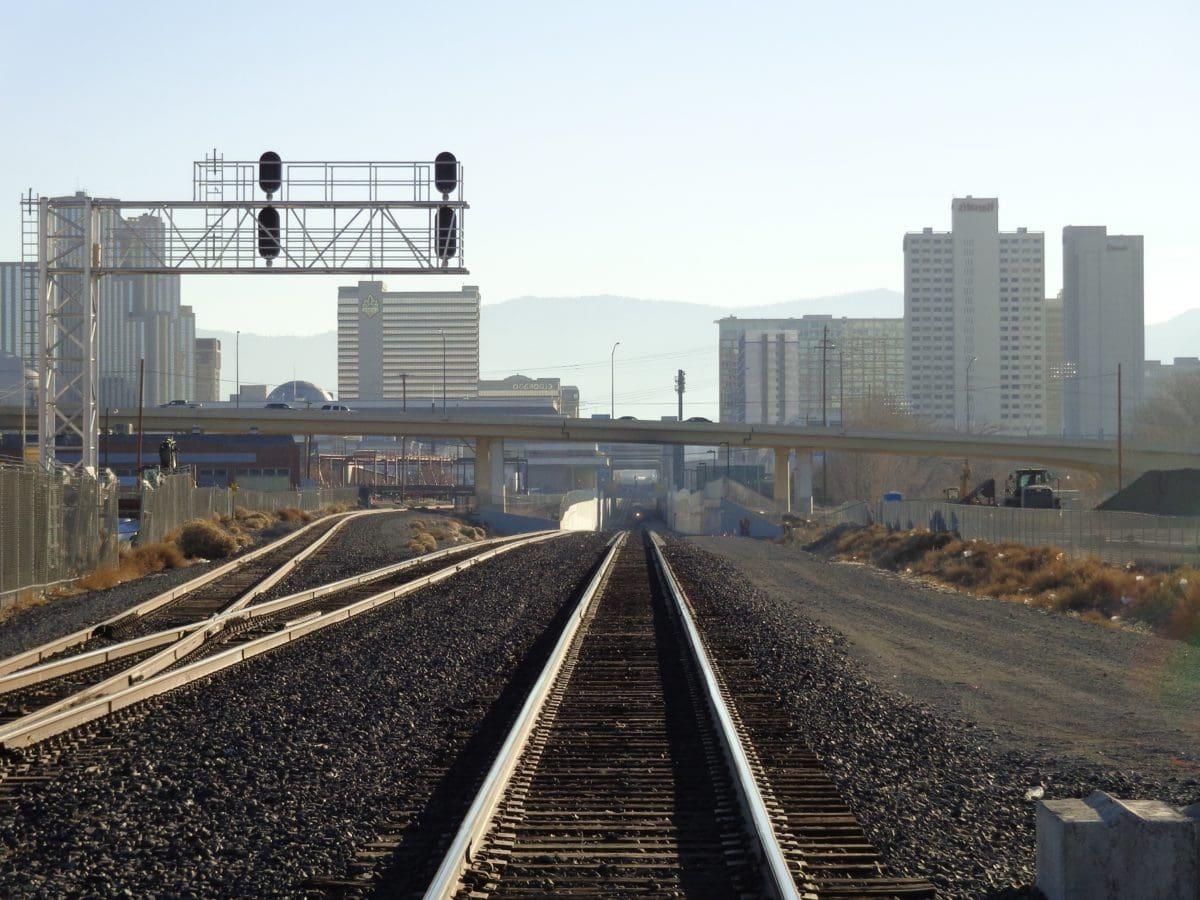 silnice, průmysl, železnice, lokomotiva, nádraží, železnice, doprava