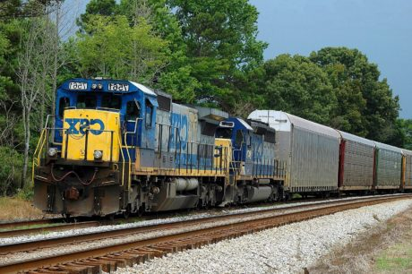 locomotief, spoorweg, motor, trein, daglicht, technologie, vertrek, mechanisme, voertuig, spoorweg