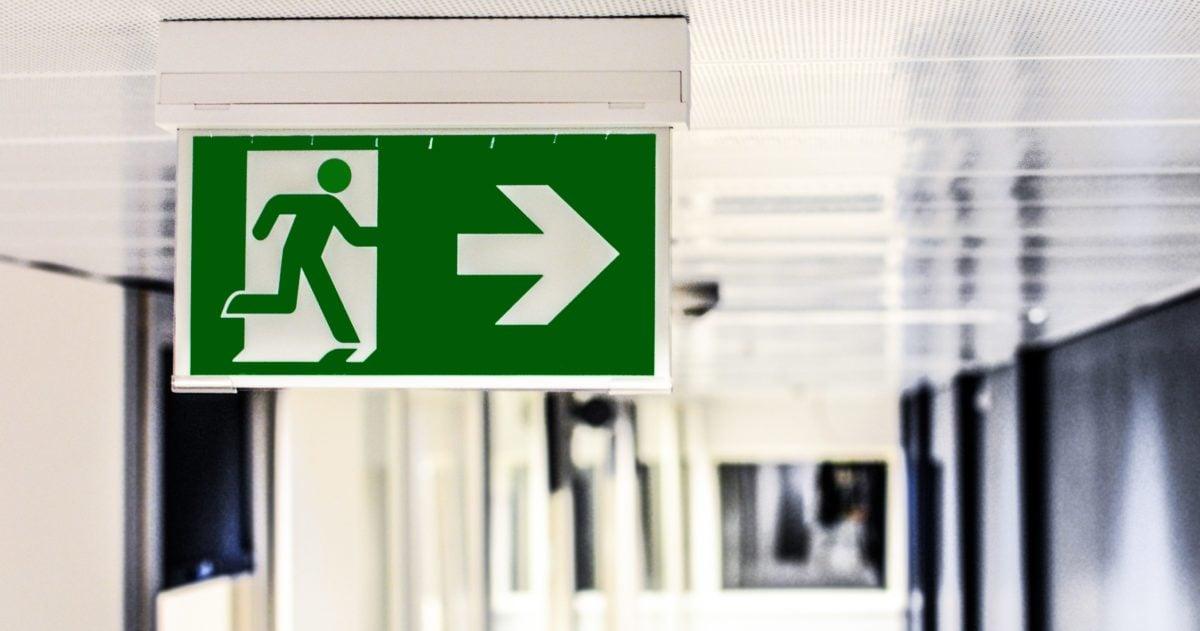 Ausgang, Symbol, Interieur, Raum, Bild, Grafik, Information, Schild