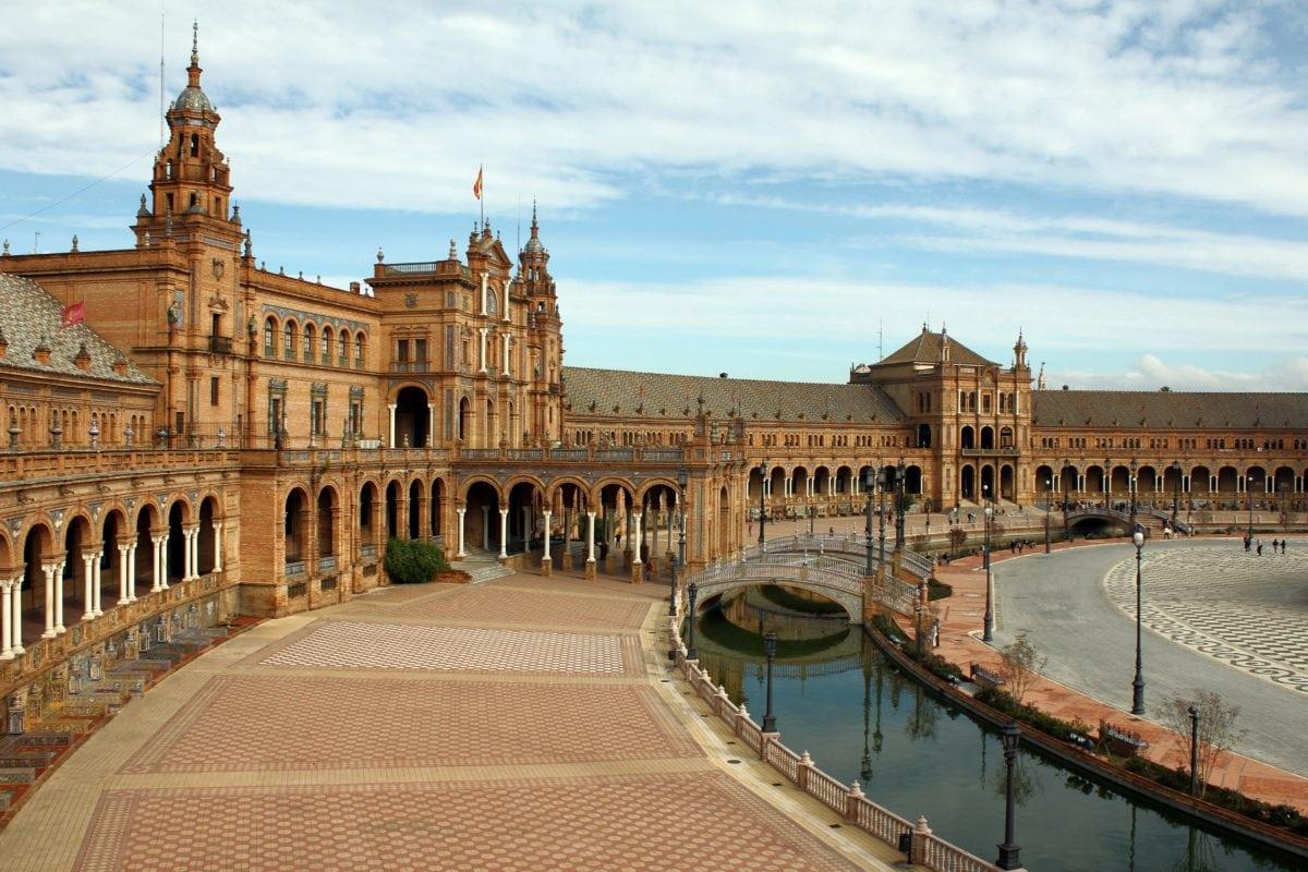 архитектура, град, лукс, дворец, резиденция, дворец, река, небе