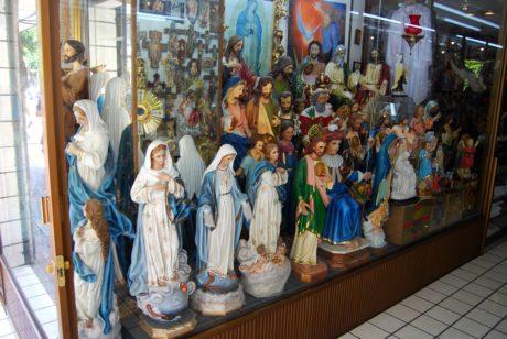 雕塑, 五颜六色, 艺术, 玻璃, 对象, 人, 宗教