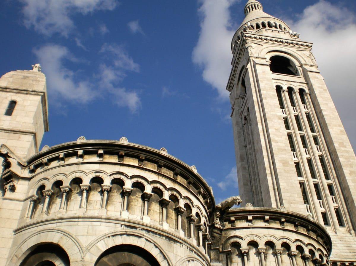 Възраждане, катедрала, небе, религия, стар, синьо небе, фасада, дневна светлина, църква, архитектура, купол