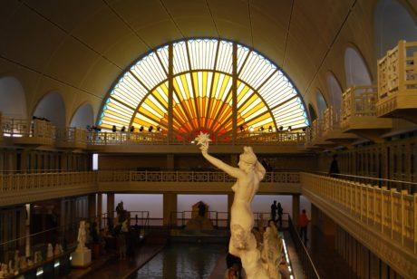 arkitektur, Hall, interiør, indendørs, sal, Museum
