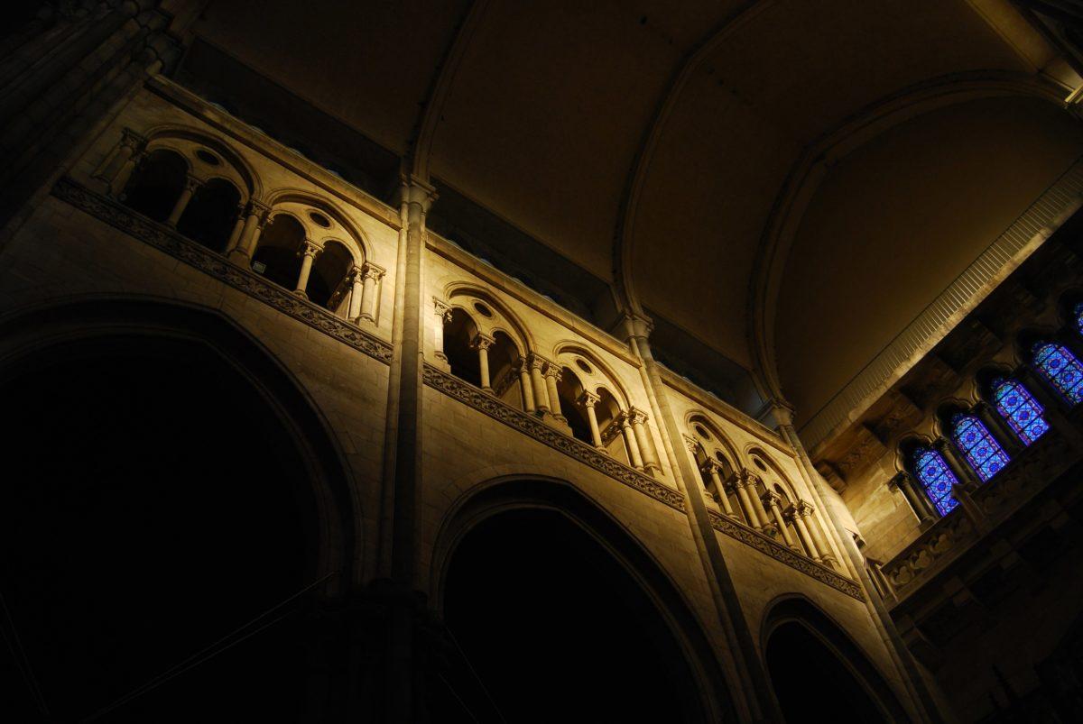 darkness, interior, art, arch, wall, architecture, church