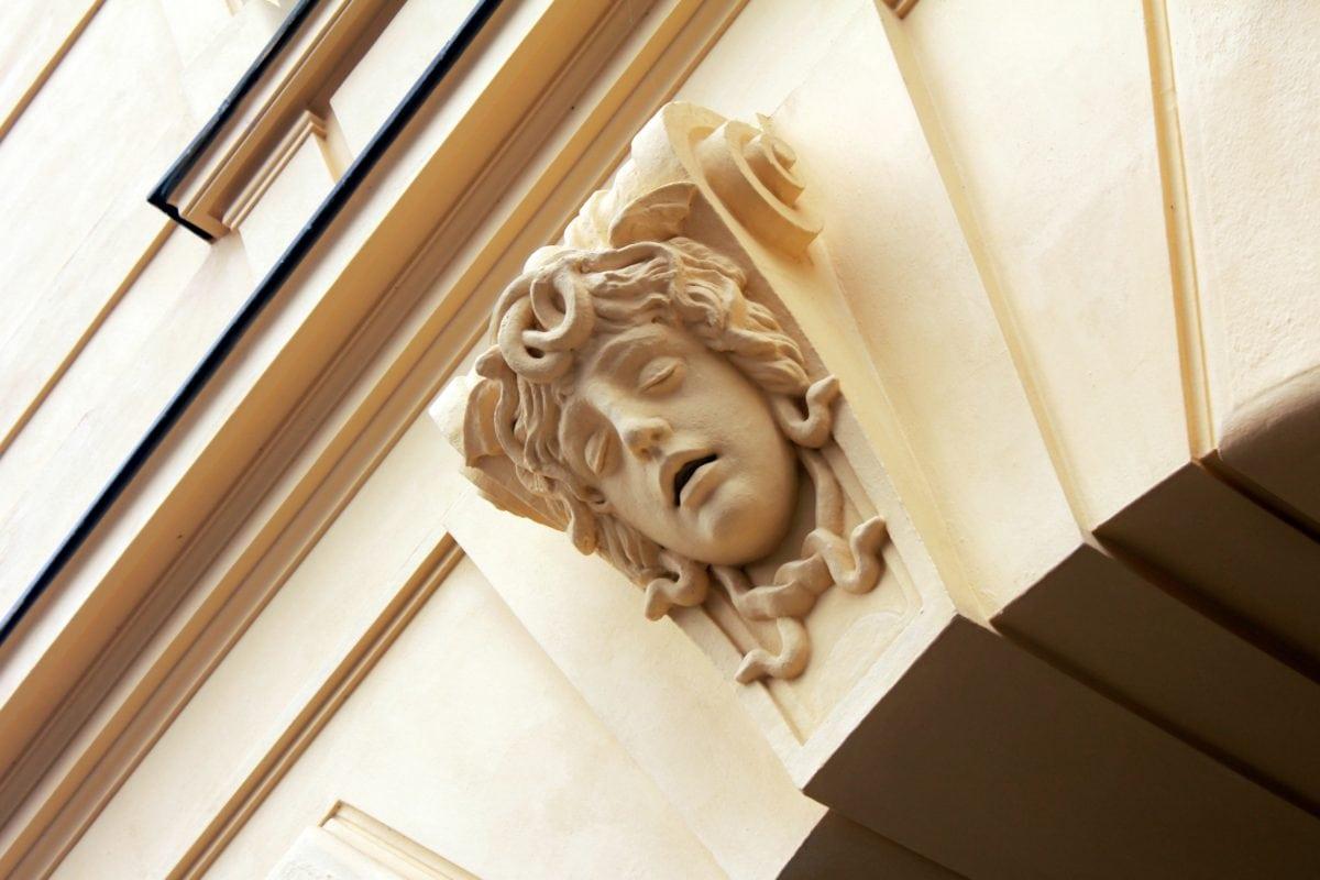 πρόσοψη, εξωτερικό, sculputre, τέχνη, πορτρέτο, σχεδιασμός, ορόσημο