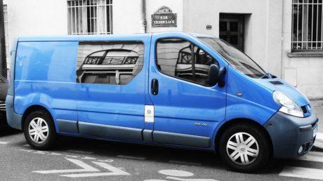 impulsión, coche azul, rueda, vehículo, automóvil, tráfico, coche eléctrico