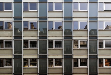 wall, square, facade, balcony, contemporary, window, architecture, modern
