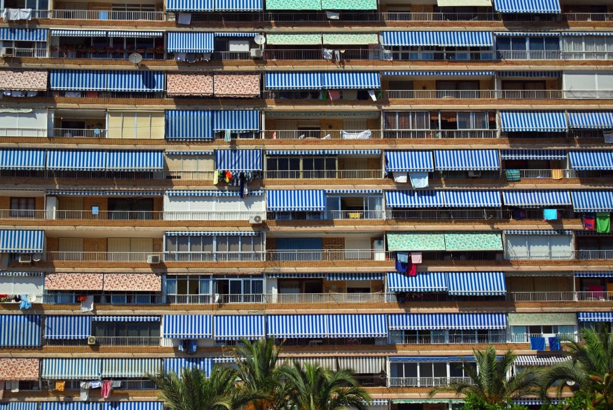 modern, architecture, library, structure, city, urban, balcony, street