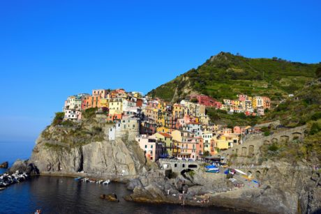 house, sea, water, architecture, seashore, town, city, cliff