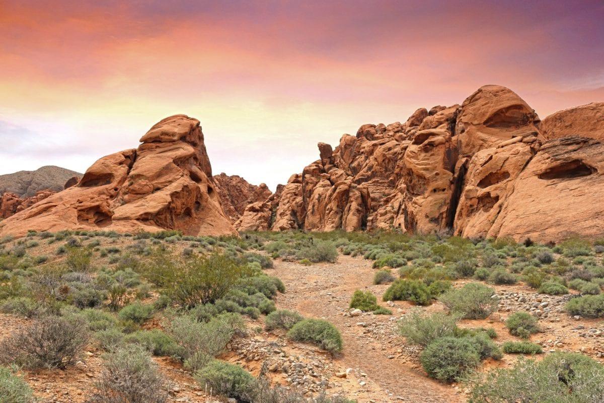 Пісковик, краєвид, геологія, Пісковик, природа, червоне небо, Долина, пустеля, Гора