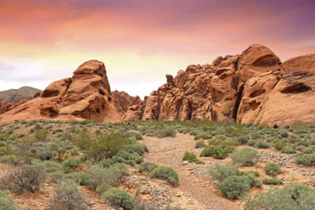 sandstone, landscape, geology, sandstone, nature, red sky, valley, desert, mountain
