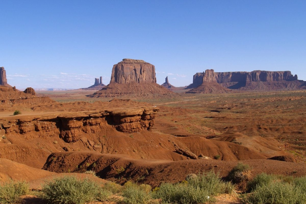 Canyon, geologia, Knoll, seco, arenito, paisagem, deserto, vale