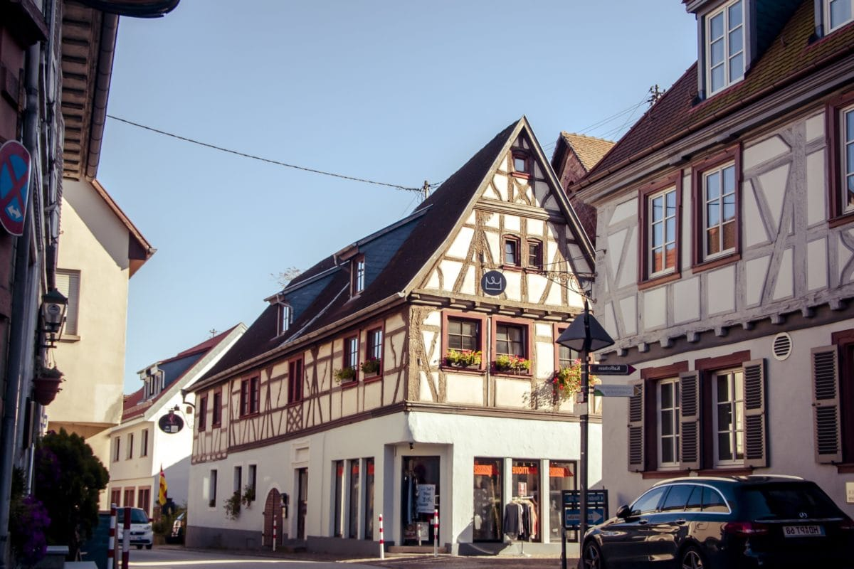 town, street, city, architecture, house, blue sky, facade, Europe, outdoor