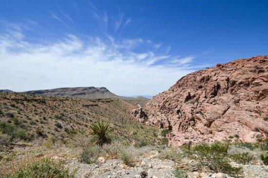 paysage, nature, désert, ciel bleu, vallée, désert, montagne, extérieur