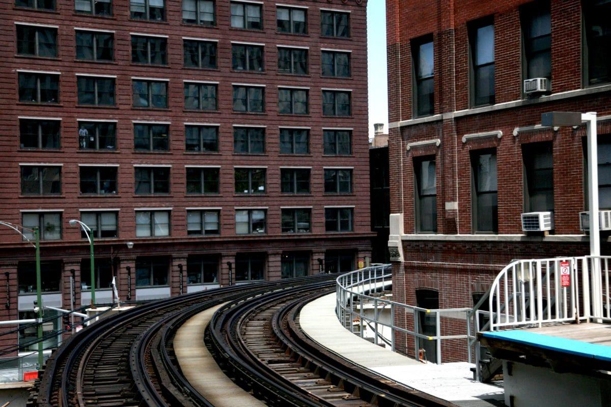 architectuur, outdoor, stad, centrum, exterieur, gevel, Railway