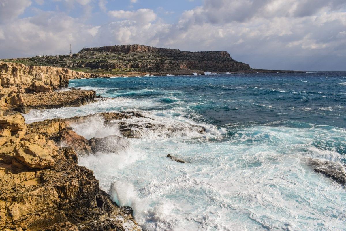 krajina, pobřeží, letní sezóna, oceán, moře, voda, pláž, pobřeží, písek