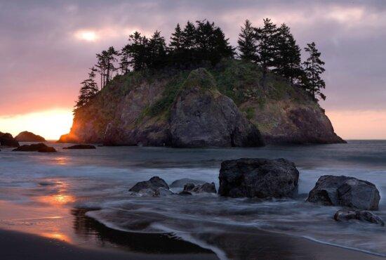 agua, amanecer, marea, puesta de sol, oscuridad, playa, mar, Oceano, paisaje, Costa