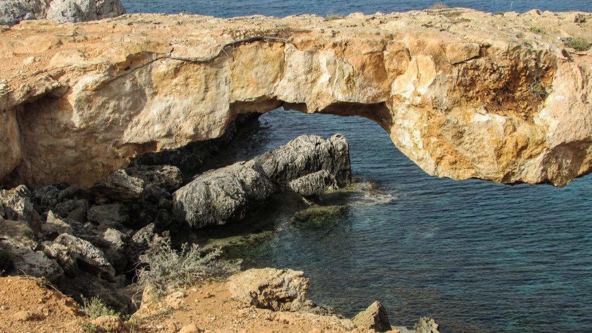 景观, 夏季, 水, 海洋, 自然, 海洋, 海滨, 悬崖, 洞穴