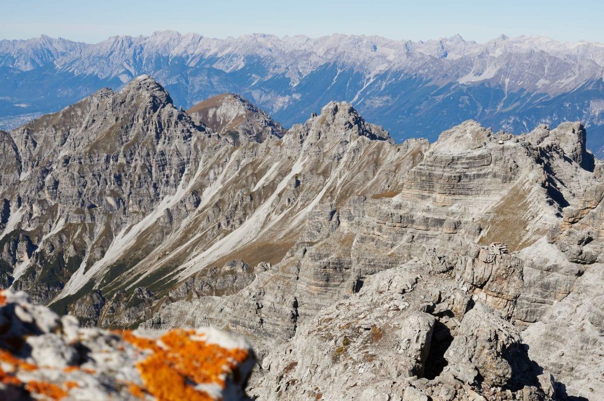 himmel, høj, natur, bjerg, landskab, sne, gletsjer, udendørs