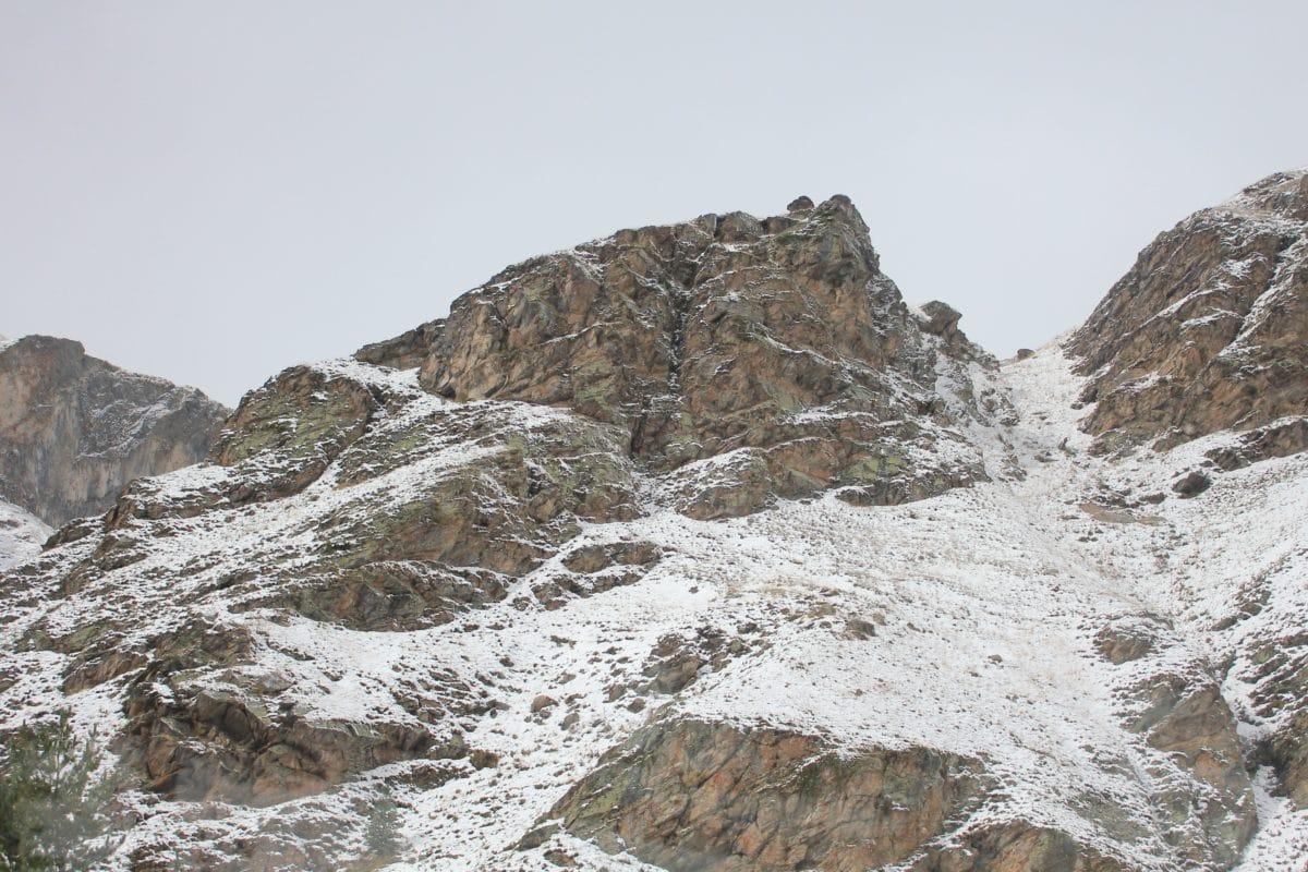 зима, сняг, студ, лед, природа, планина, небе, пейзаж