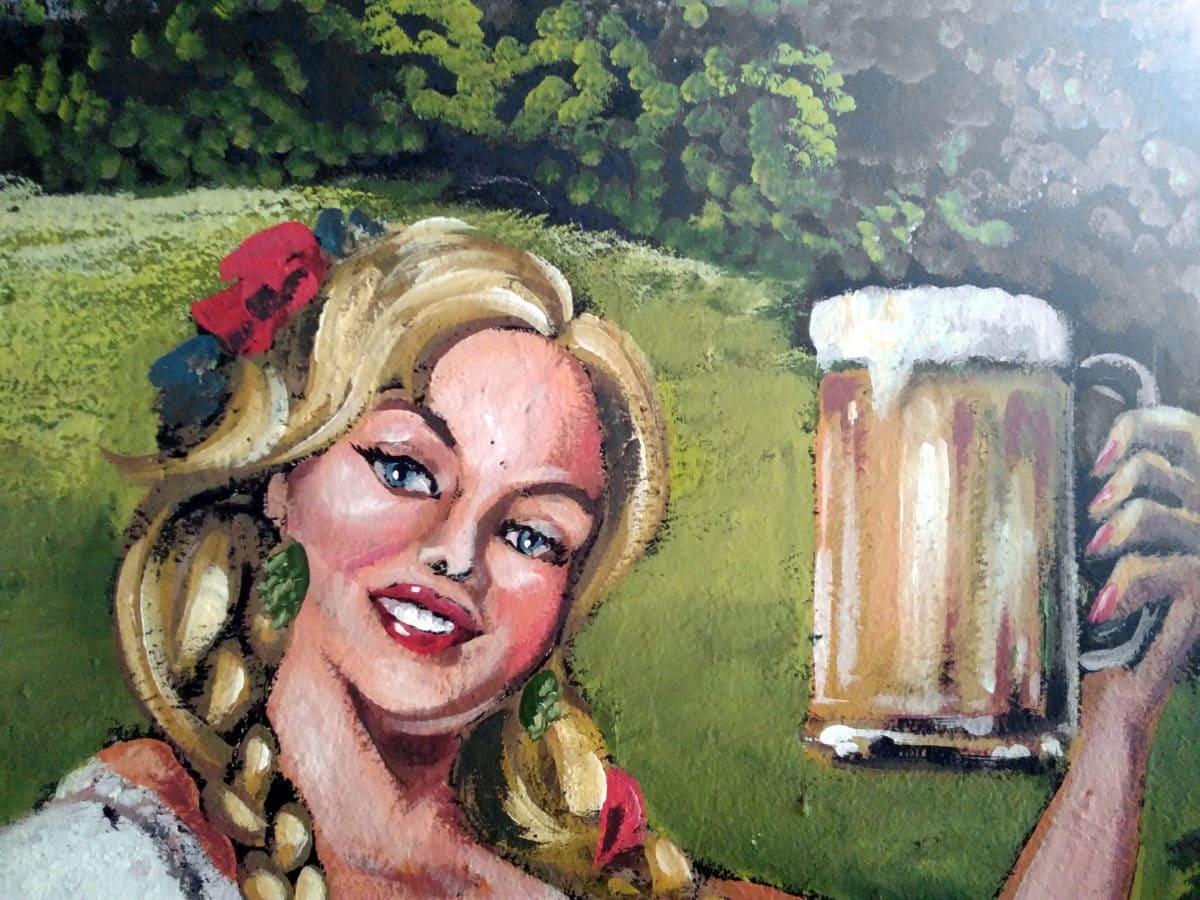 изкуство, цветни, изящни изкуства, портрет, хубаво момиче, костюм, лицето, жена