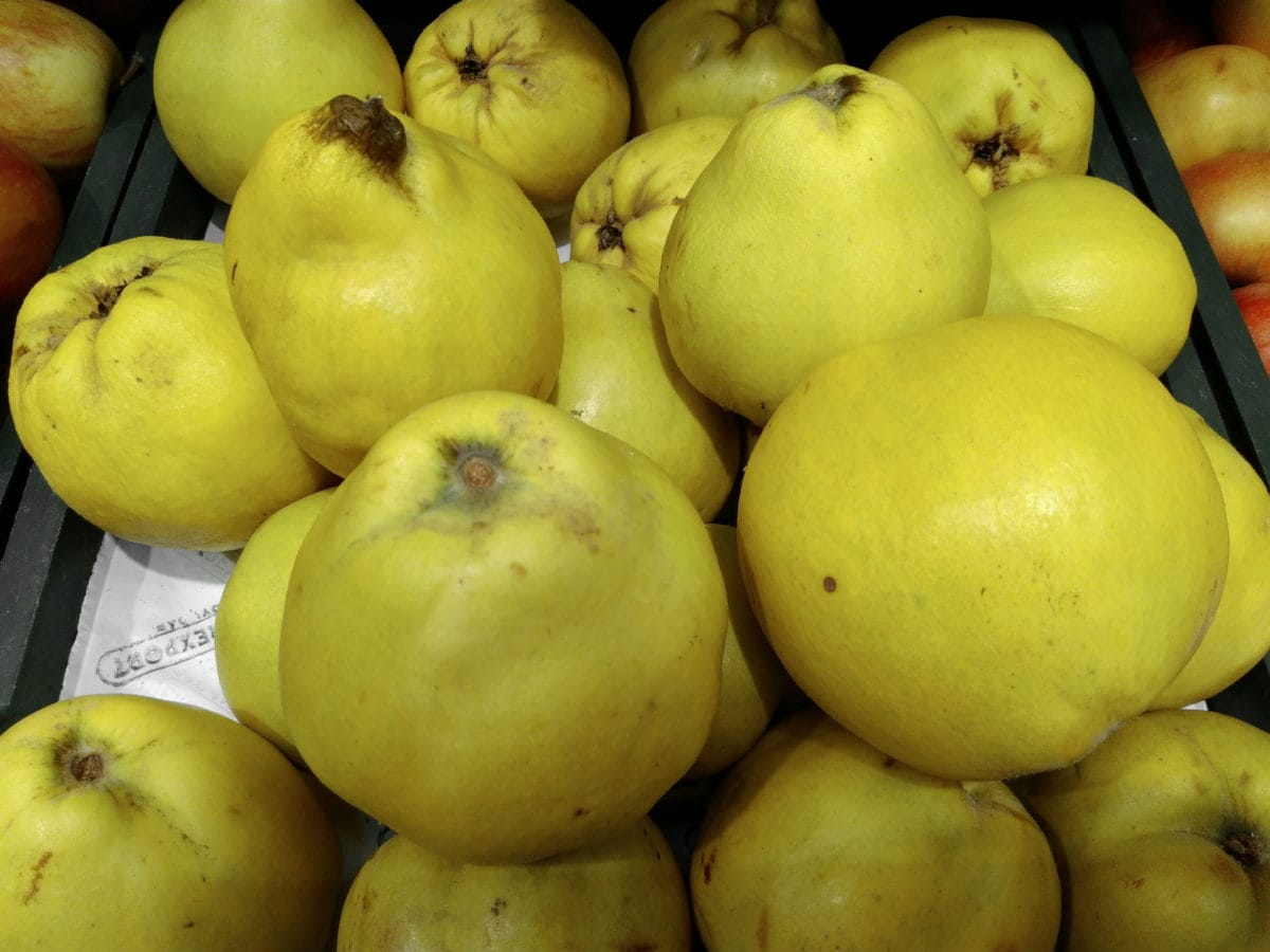 voće, tržište, tržnica, dunja, dijeta, hrana, slatko, prehrana