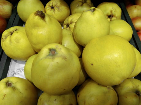 fruit, market, marketplace, Quince, diet, food, sweet, nutrition