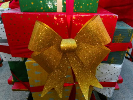 box, christmas, colorful, gift, holiday, ribbon, party, surprise