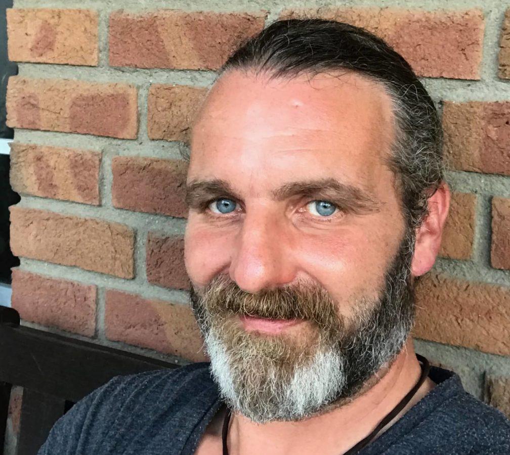 barba, empresario, ojos, vertical, hombre, bigote, cara, personas