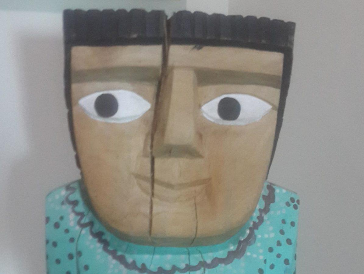 detaily, ručně vyráběné, objekt, moderní, portrét, figurka, materiál, řemeslo