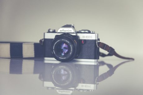 nostalgia, reflection, retro, lens, technology, mechanism, photography, aperture
