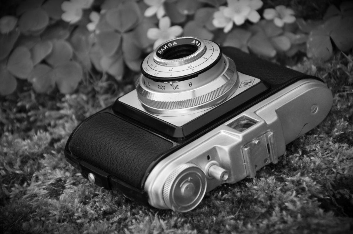 Crna, crno i bijelo, crno-bijeli, nostalgija, mehanizam, oprema, kamera, leća