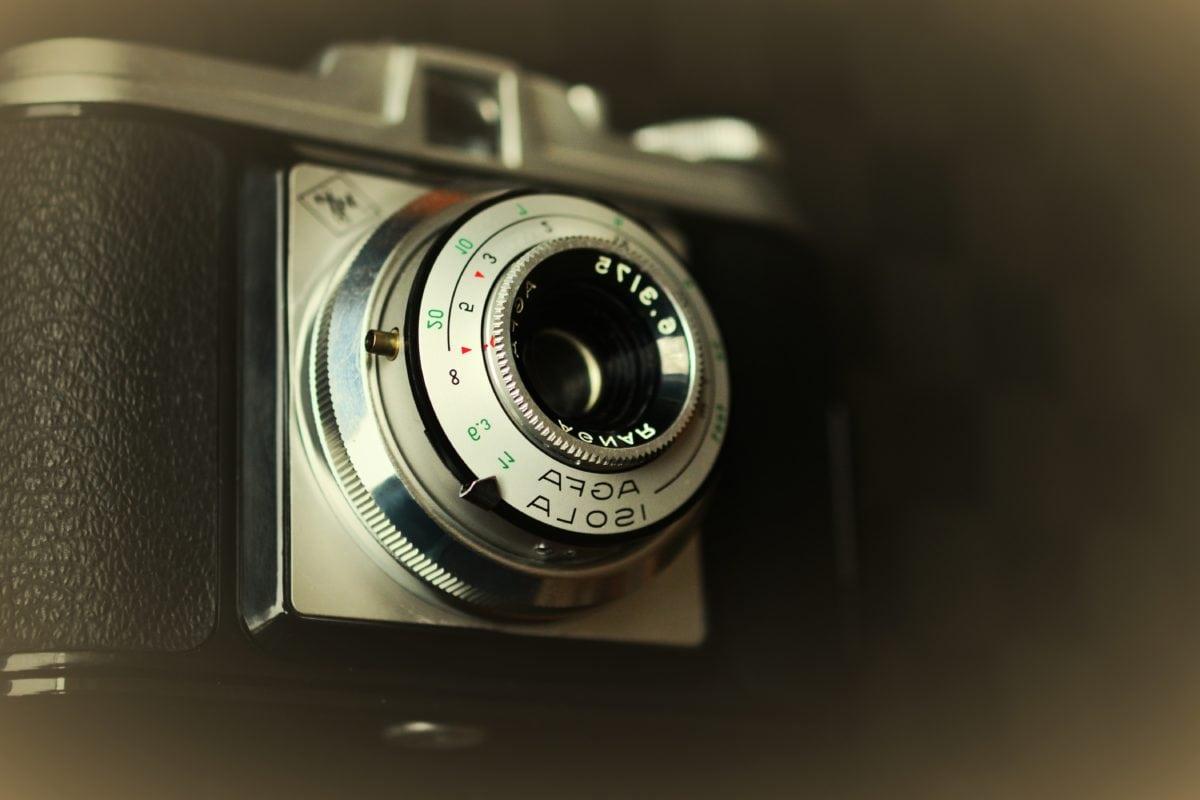 nostalgie, staré, staromódní, starý styl, Lupa, čočka, fotoaparát, zařízení
