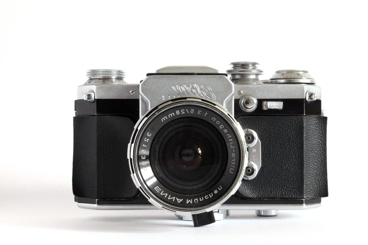 vieux, Old-fashioned, style ancien, classique, photographie, objectif, équipement, appareil photo