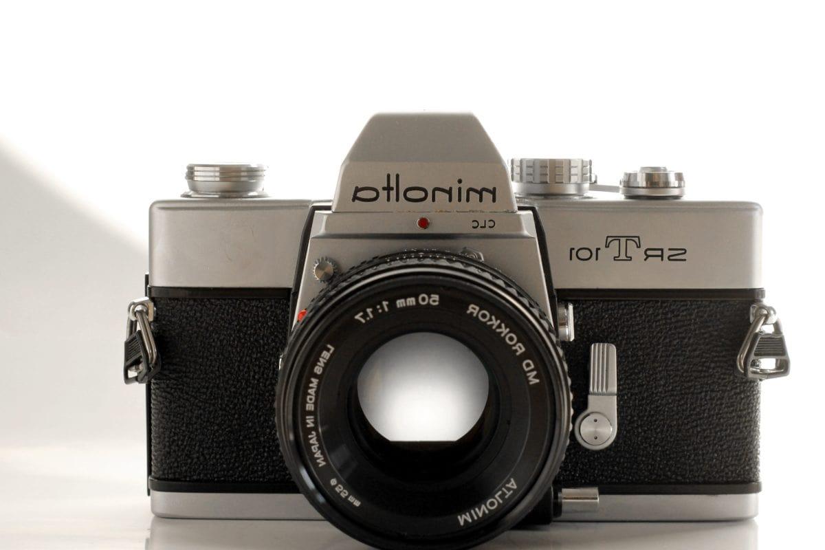носталгия, обект, стар, старомодна, стар стил, камера, фотография, леща