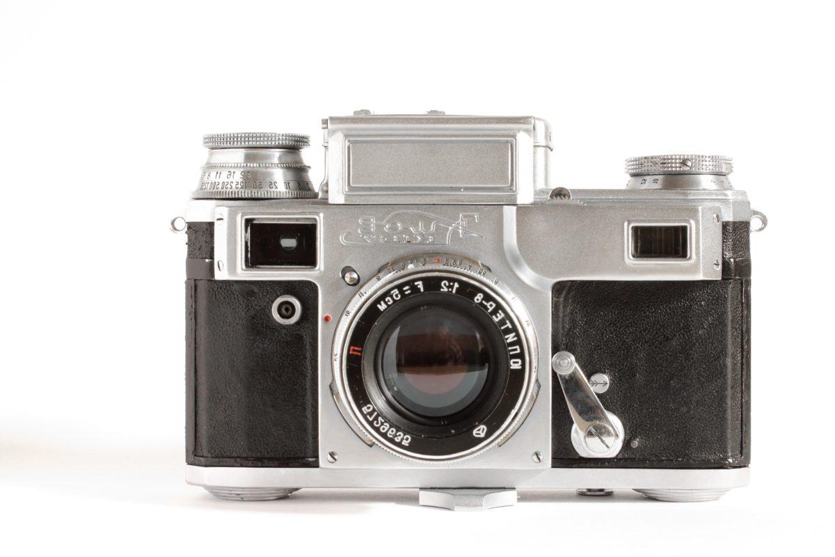 fotografi, mekanisme, utstyr, linsen, teknologi, kameraet, filmen, klassisk
