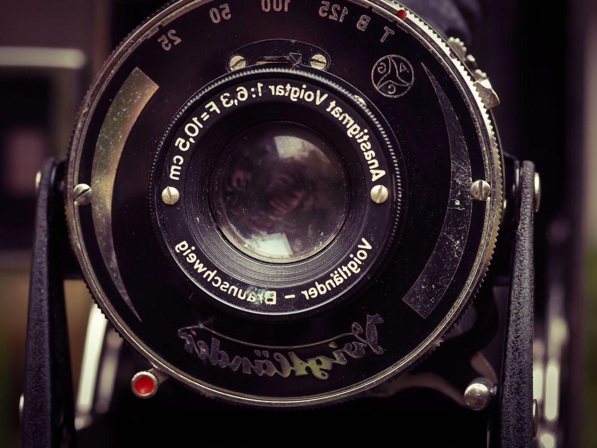 Analogový, fotografické studio, fotografie, fotoaparát, mechanismus, Retro, čočka, clona