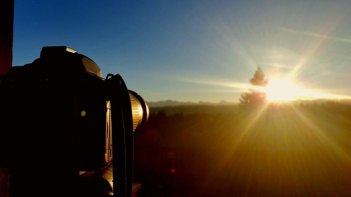 φωτογράφος, φωτογραφία, ηλιοφάνεια, ηλιακή κηλίδα, Ήλιος, σιλουέτα, σύννεφο, ηλιοβασίλεμα