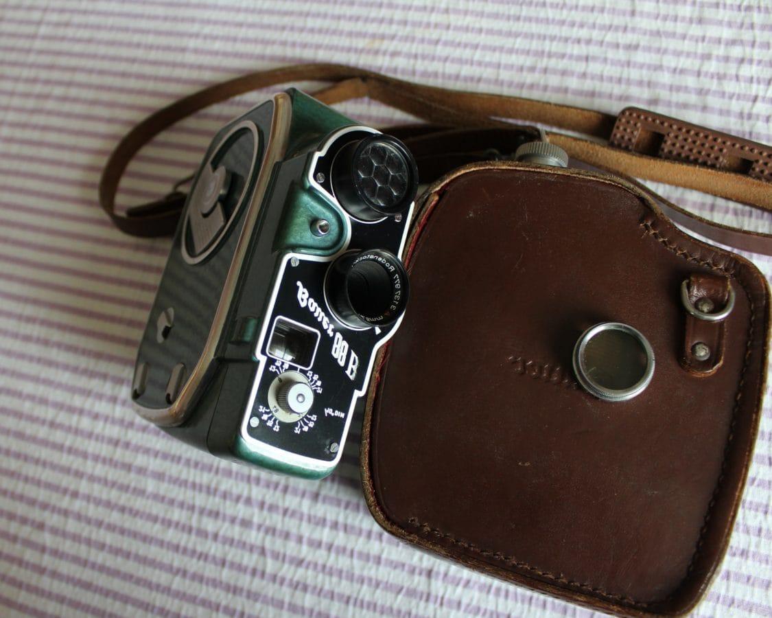 leather, nostalgia, old, photography, retro, bag, lens, equipment