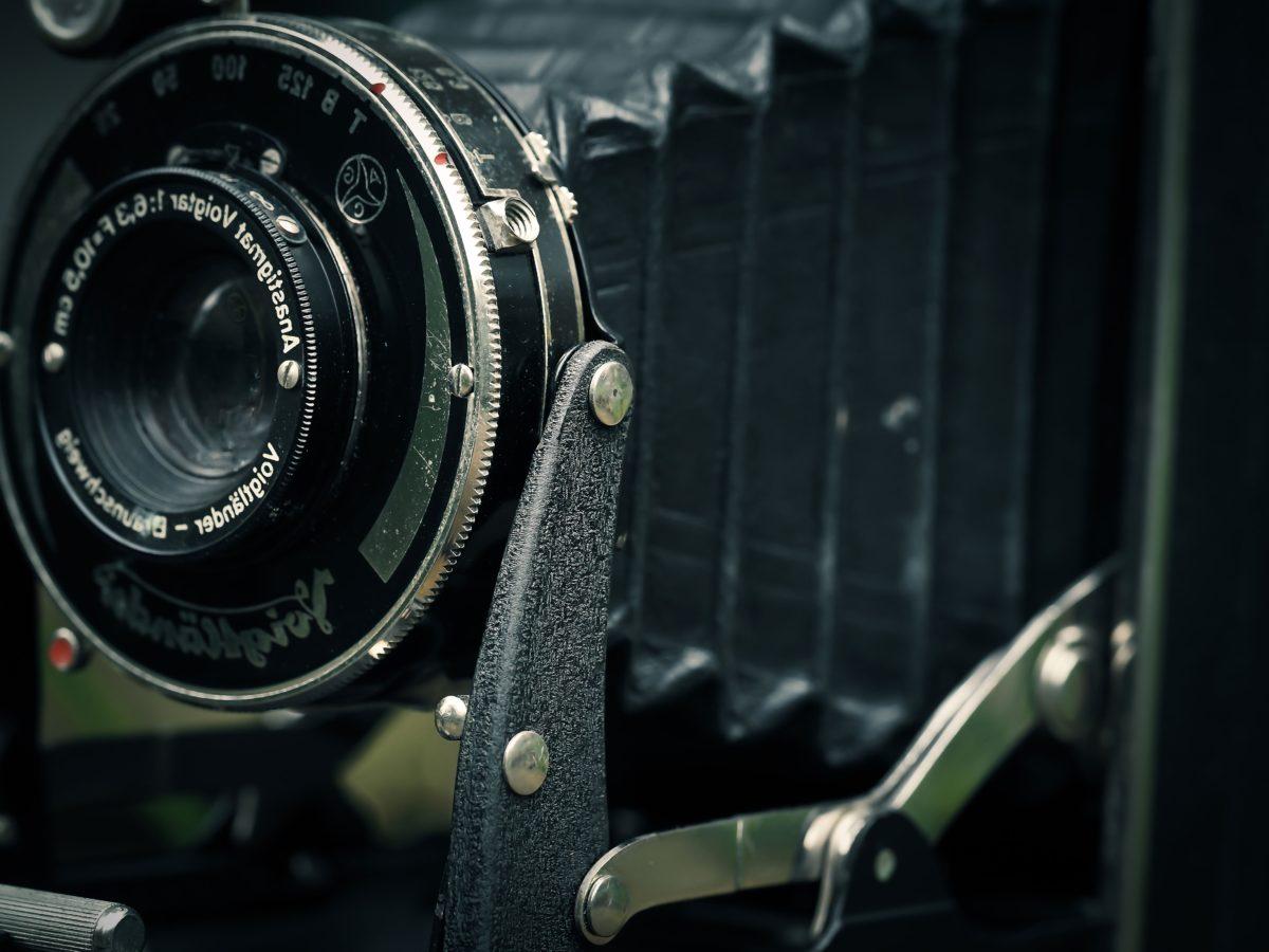 nostalgia, vanhanaikaisia, vanha tyyli, aukko, laitteet, kamera, linssi, zoom