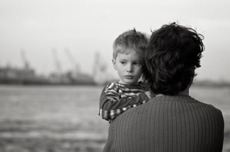 familie, nostalgi, søn, folk, forælder, barn, Dreng, barn
