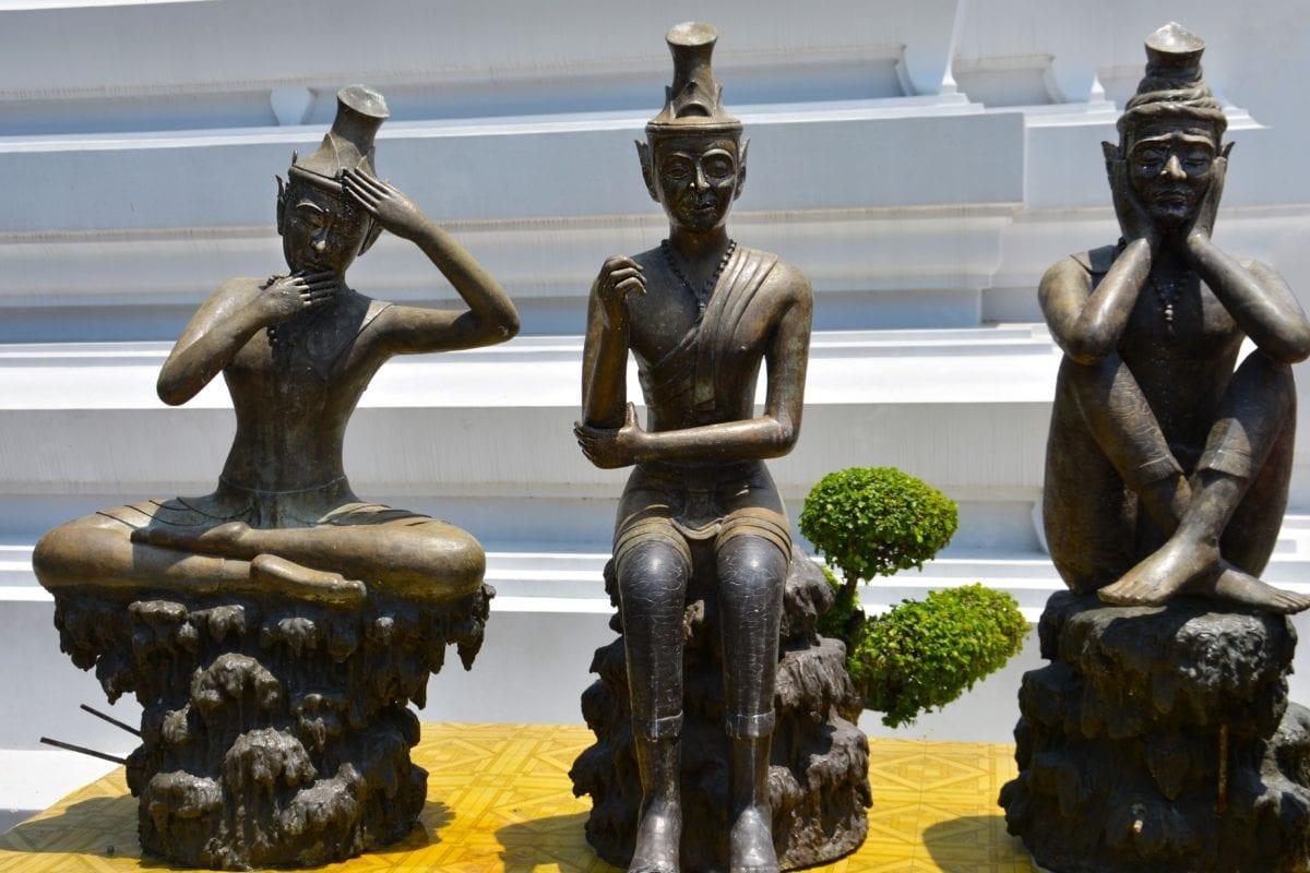en alliage, art, Metal, sculpture, Temple, statue de, religion, lumière du jour