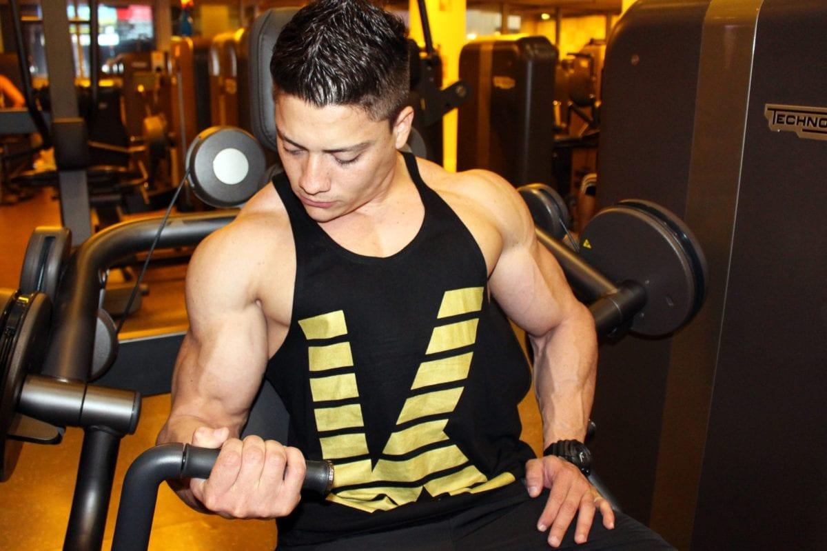 corpul, gantera, fitness, sala de sport, frumos, musculare, atlet, puterea
