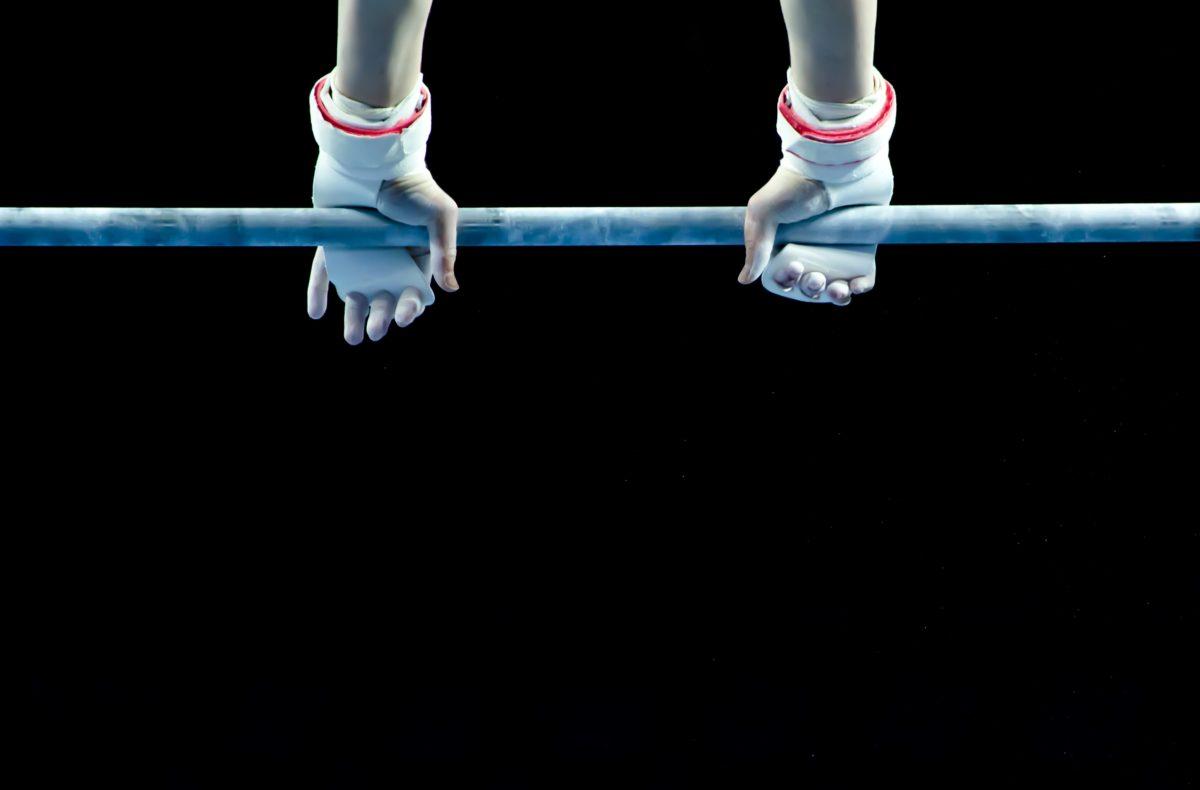 Detail, Hand, Athlet, sportlich, muskulös, Olympia, Dunkel, Wettbewerb