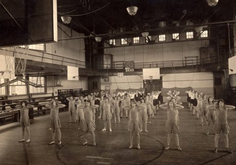 crowd, historic, history, physical activity, physical exam, sepia, people, man