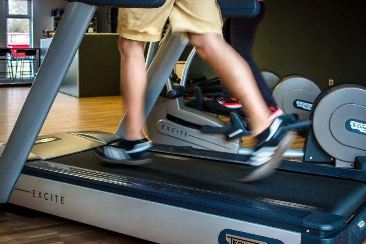 motion, fitness, gym, træningsprogram, mekanisme, folk, maskiner, udstyr