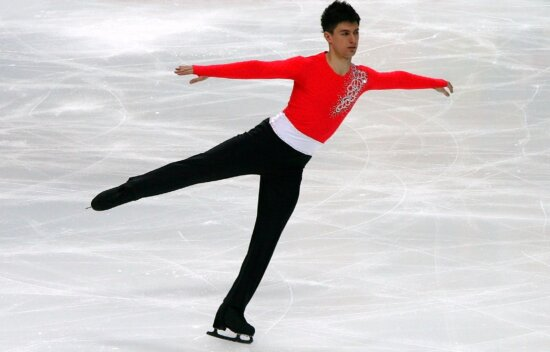 skating, boy, handsome, ice, competition, athlete, dancer, winter