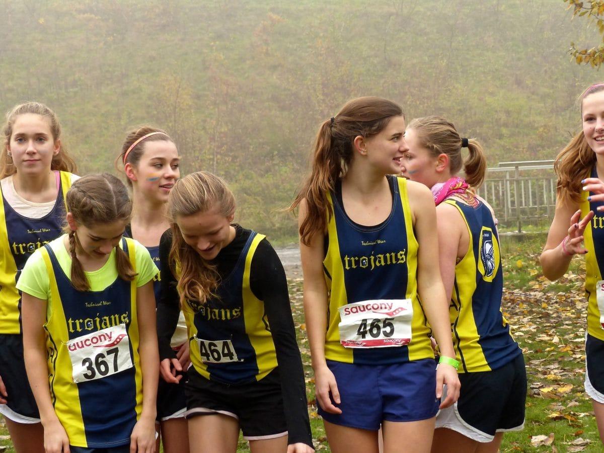 sportovní, holky, maraton, hezké děvče, mladá žena, konkurence, sportovec, běžec