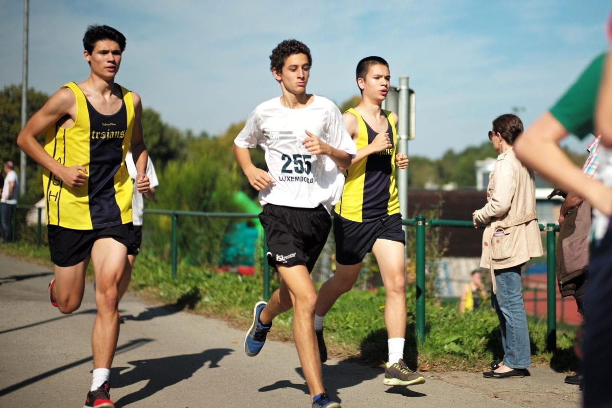 race way, racetrack, racing, youth, person, sport, runner, competition