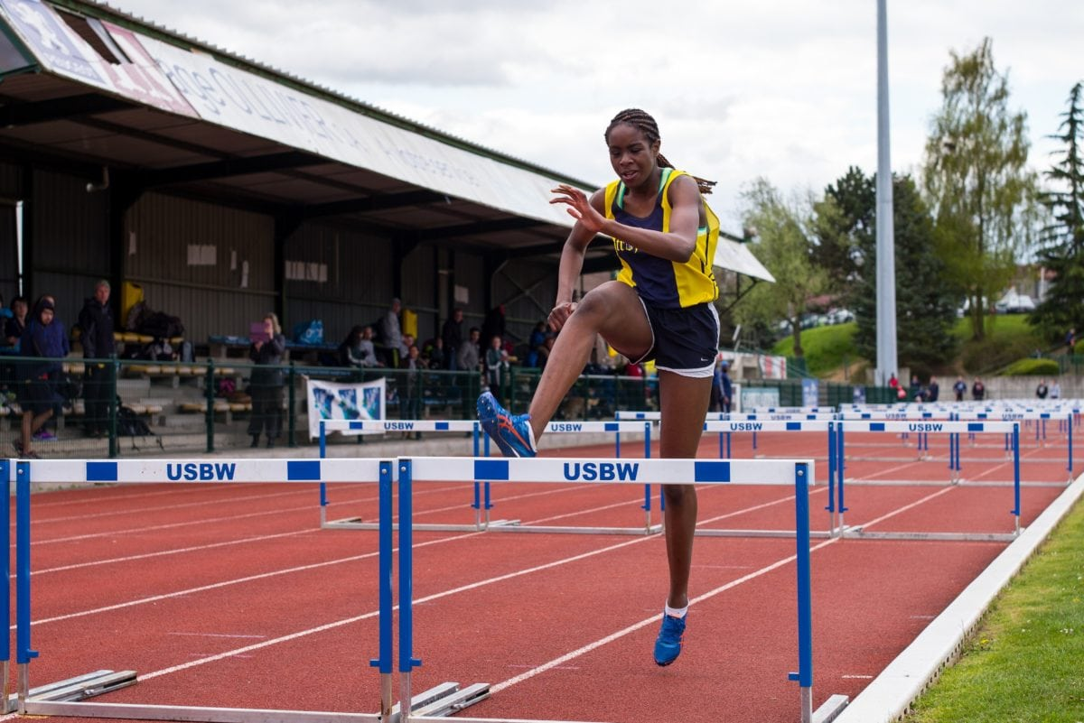спортист, Атлетик, шампион, конкуренцията, млада жена, състезание, полюс, Фитнес